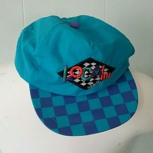 Other - ⬇️ Rad Surf Cap Hat Beach checkered teal